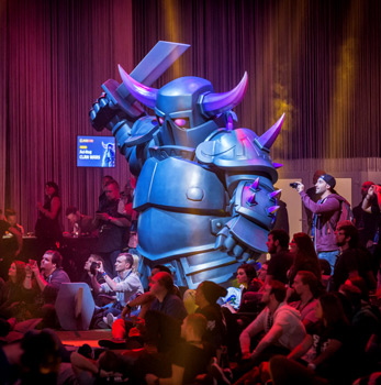 P.E.K.K.A at ClashCon